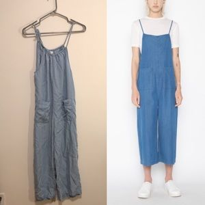 Oak + fort denim jumpsuit size medium